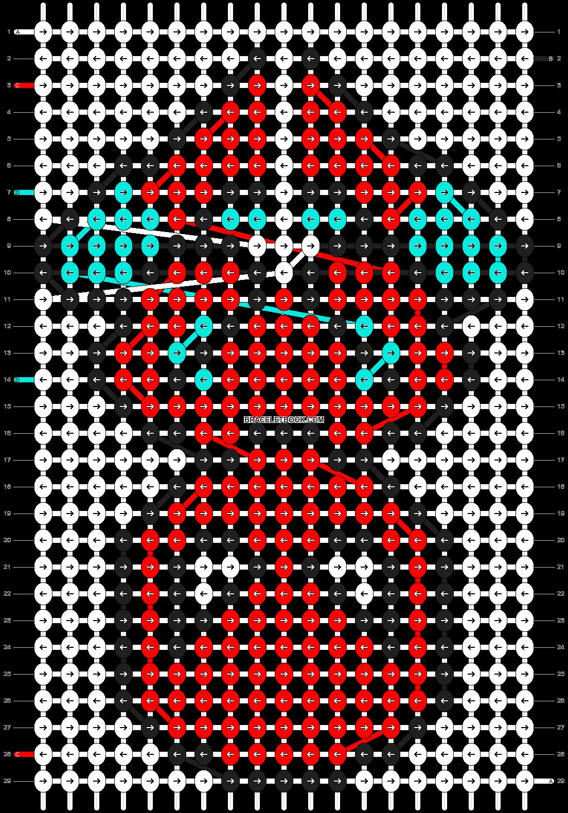 Alpha pattern #25714 pattern