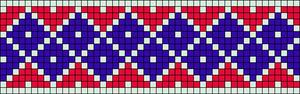 Alpha pattern #25743