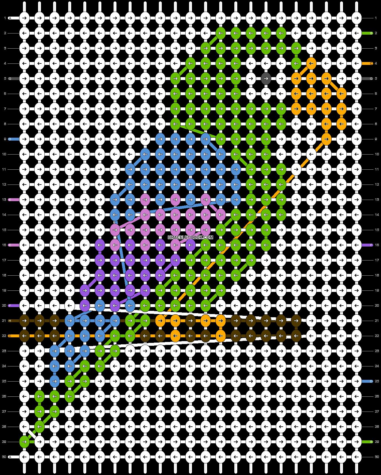Alpha pattern #25759 pattern