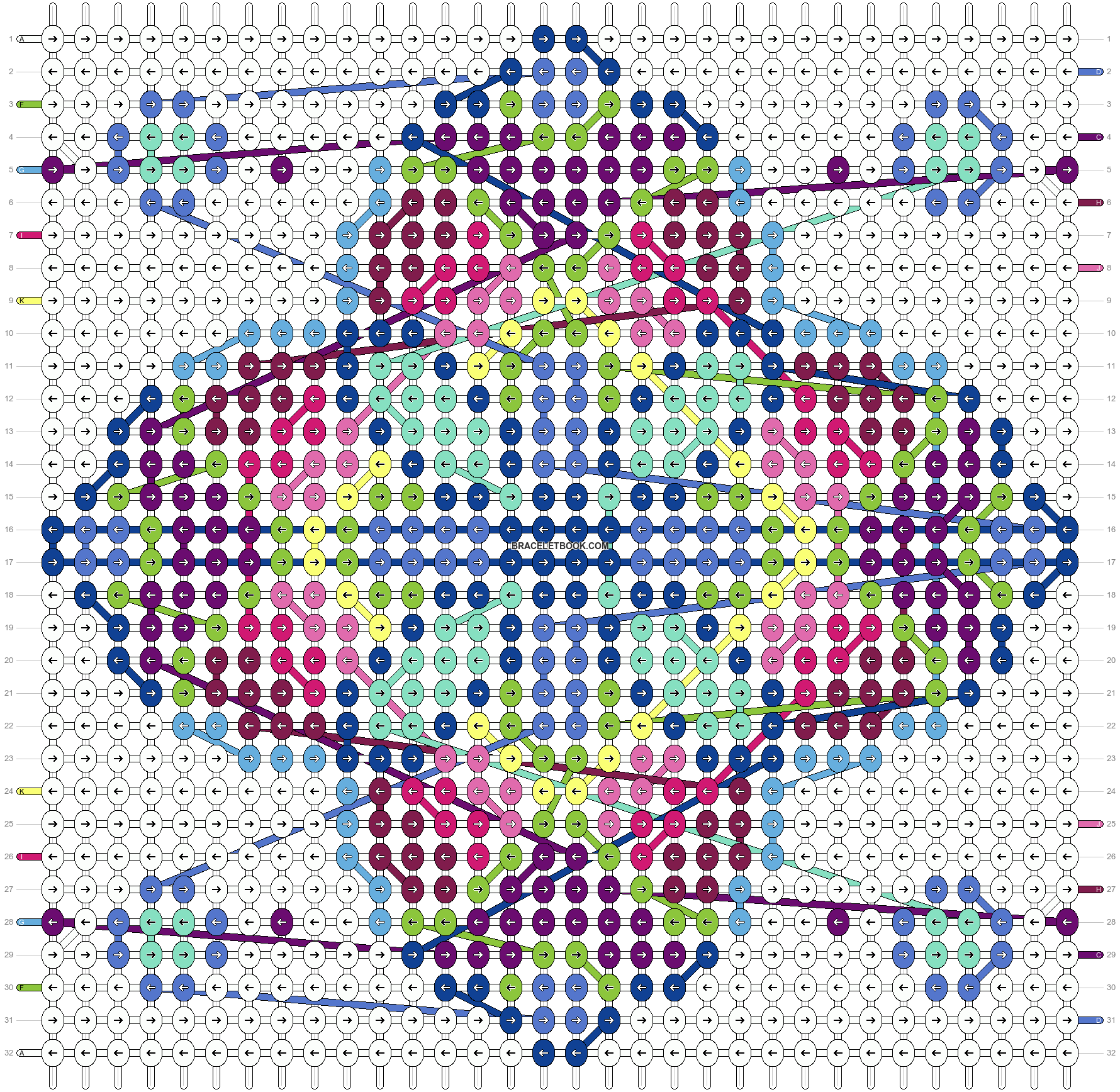 Alpha pattern #25761 pattern