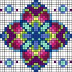 Alpha pattern #25761