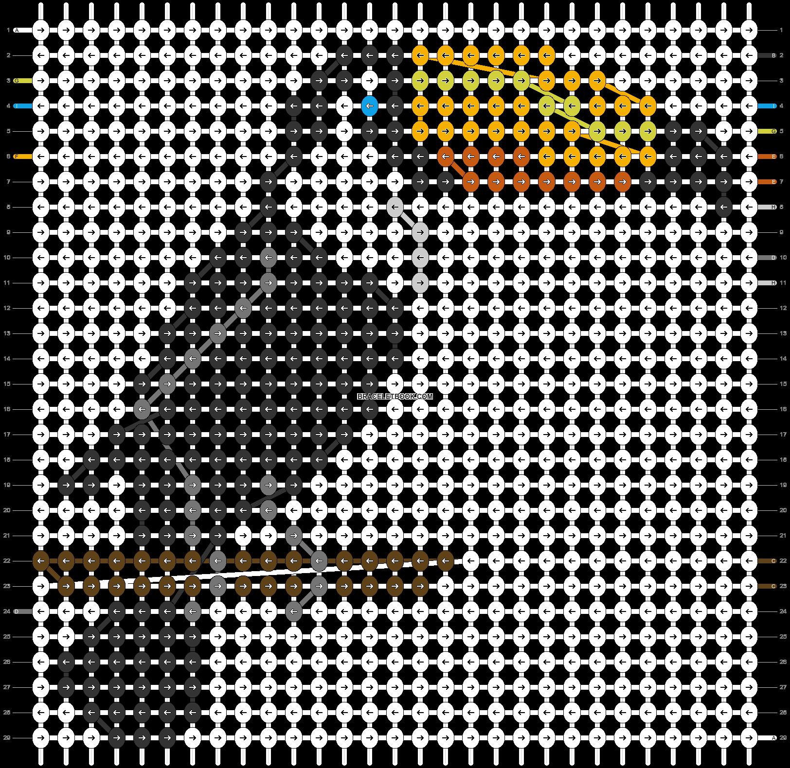 Alpha pattern #25762 pattern