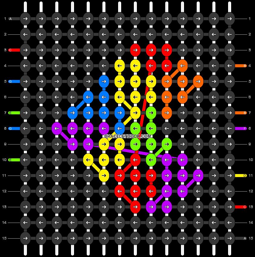 Alpha pattern #25769 pattern