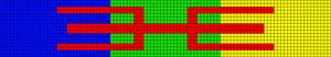 Alpha pattern #25800