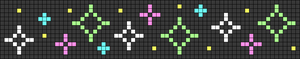 Alpha pattern #25815