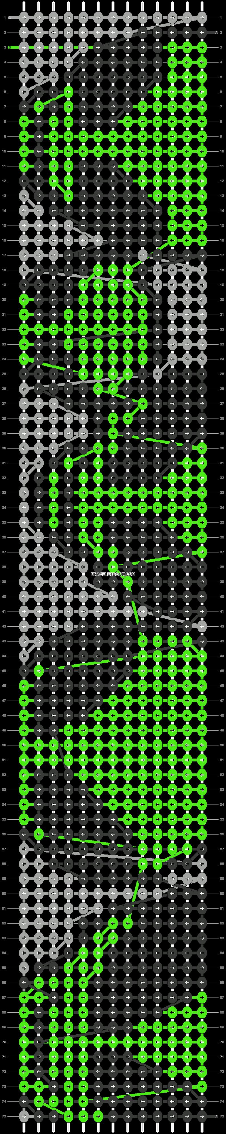 Alpha pattern #25816 pattern