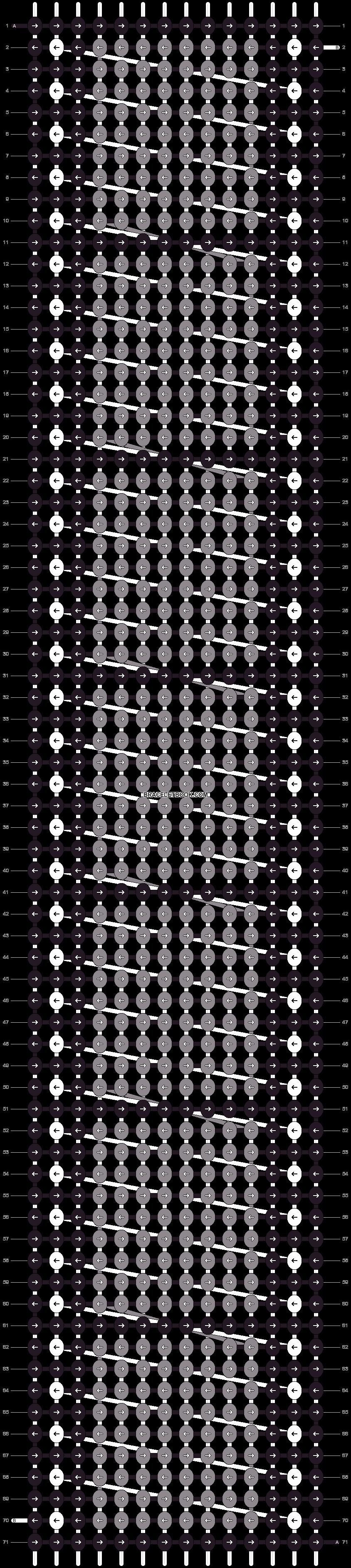 Alpha pattern #25821 pattern