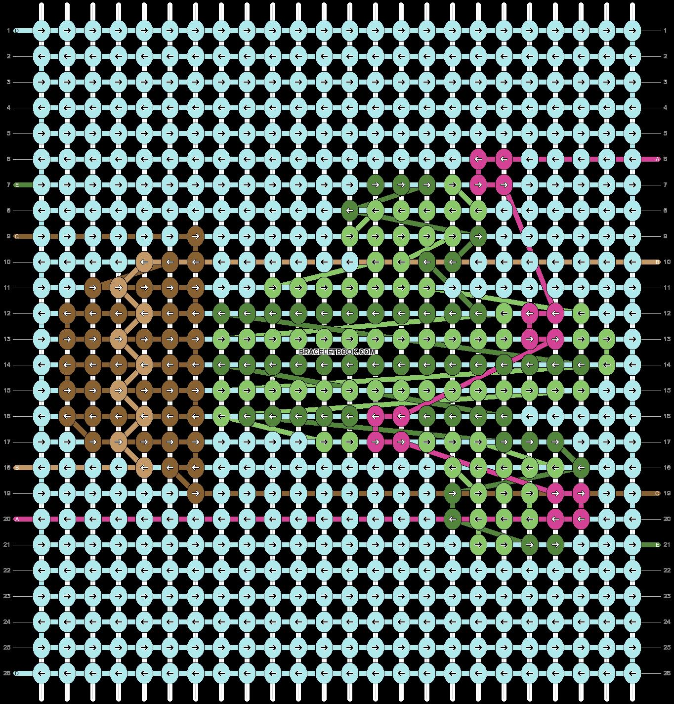 Alpha pattern #25823 pattern