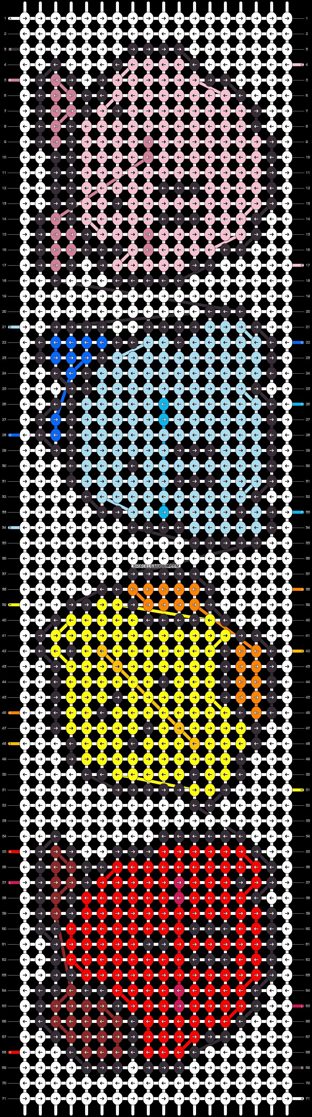 Alpha pattern #25831 pattern