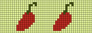 Alpha pattern #25833