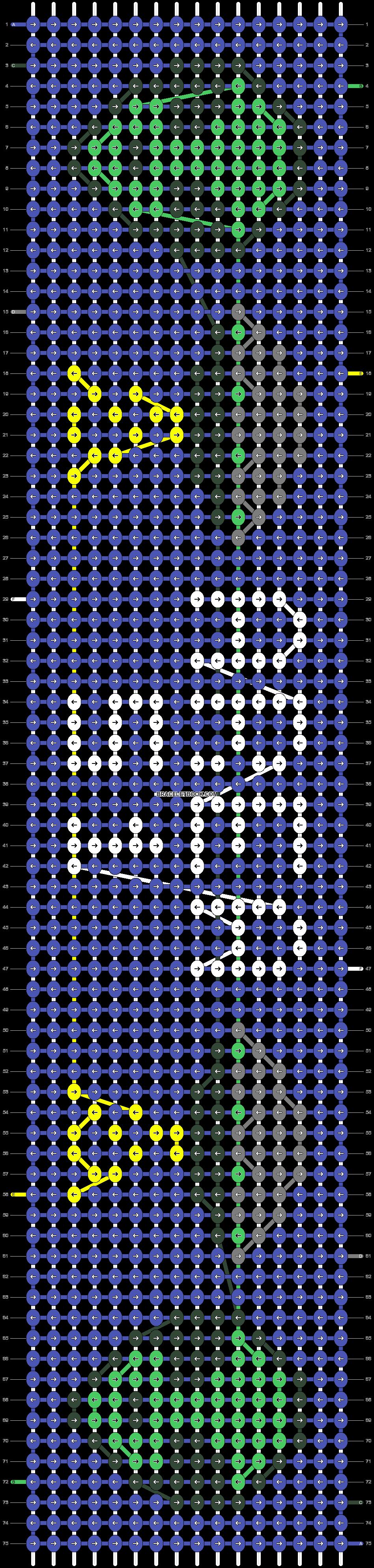 Alpha pattern #25835 pattern