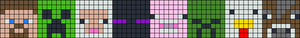 Alpha pattern #25855