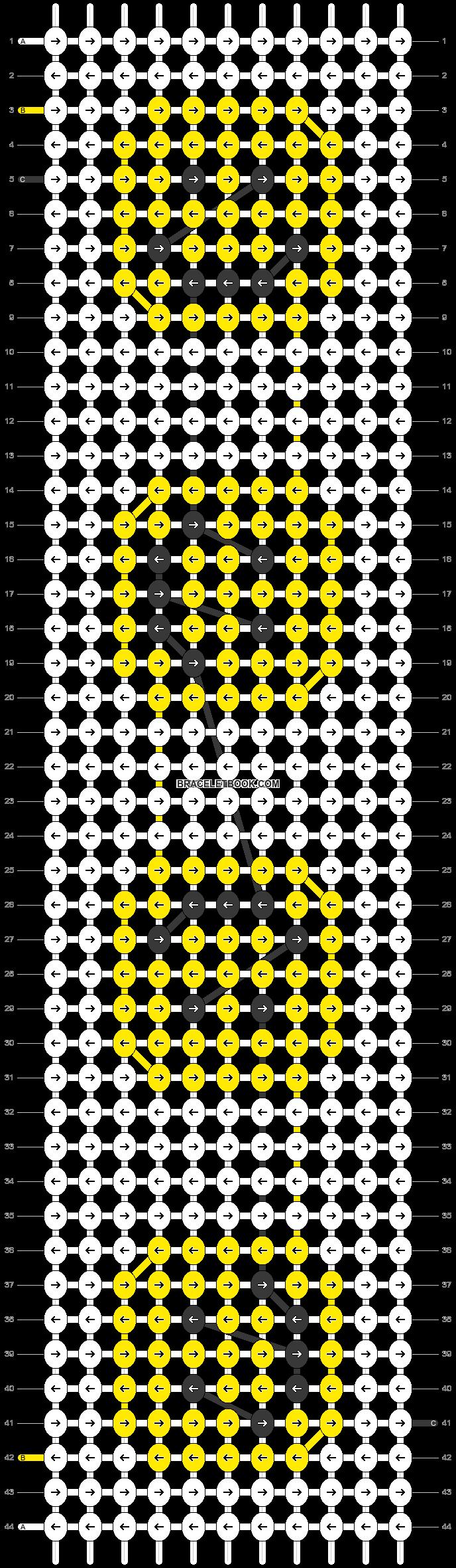 Alpha pattern #25864 pattern