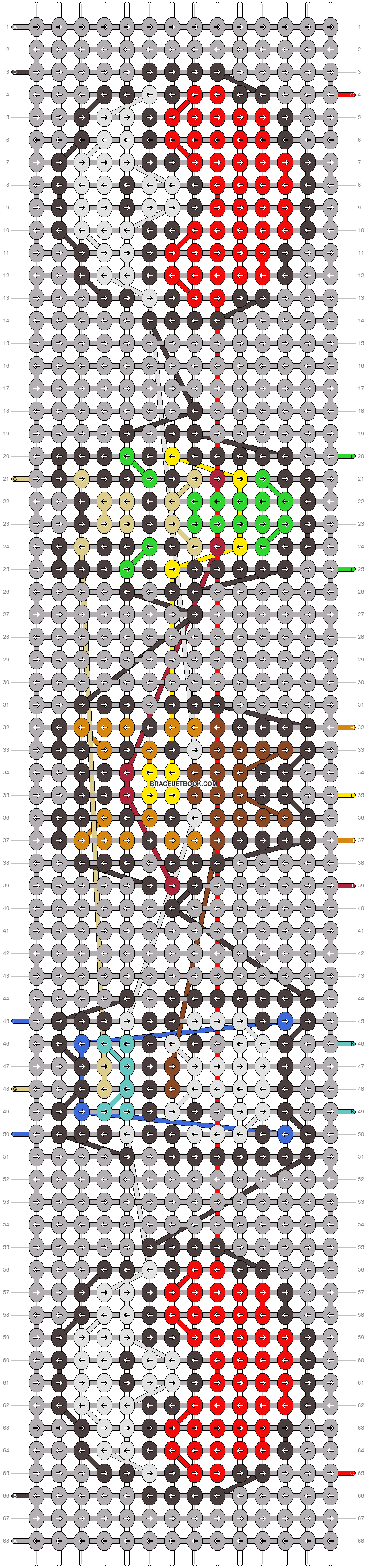 Alpha pattern #25869 pattern