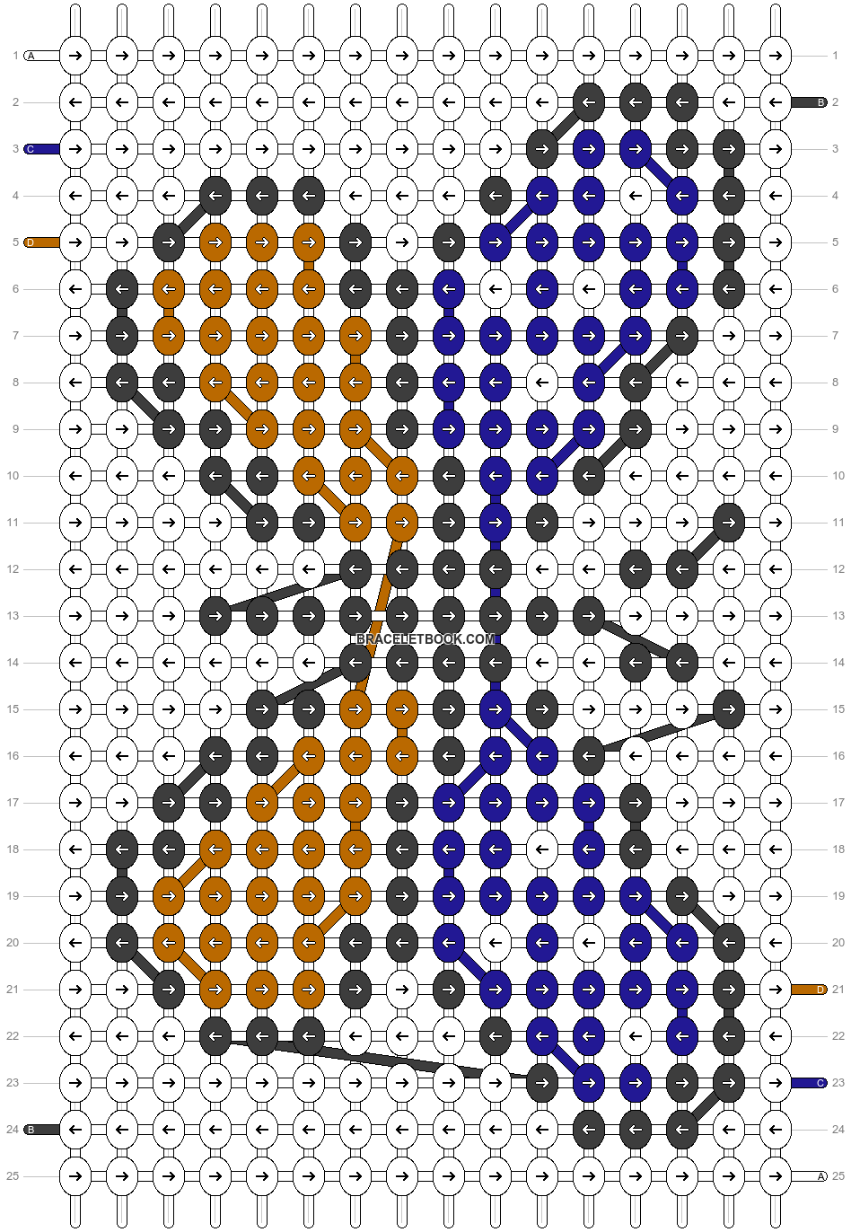 Alpha pattern #25876 pattern