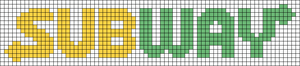 Alpha pattern #25898