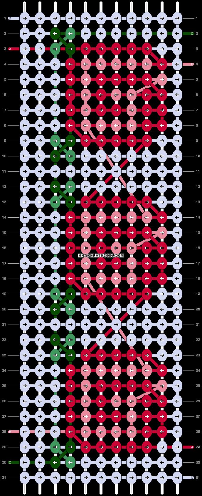 Alpha pattern #25923 pattern