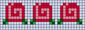 Alpha pattern #25923