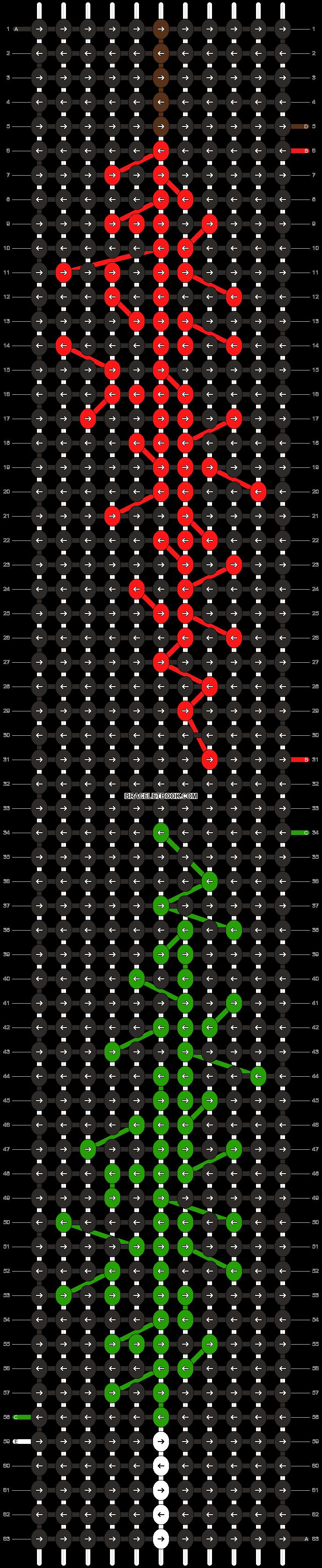 Alpha pattern #25943 pattern