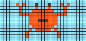 Alpha pattern #25944