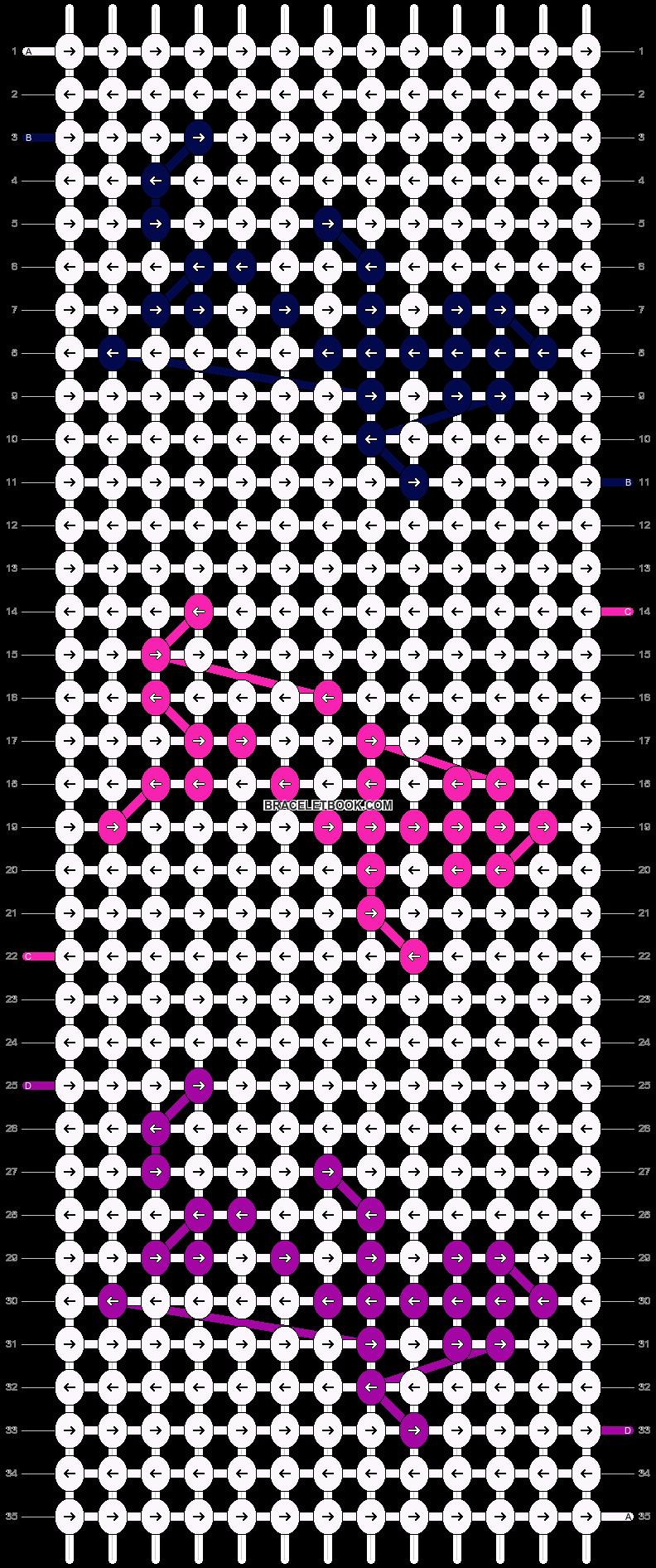 Alpha pattern #25948 pattern