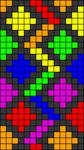 Alpha pattern #25957