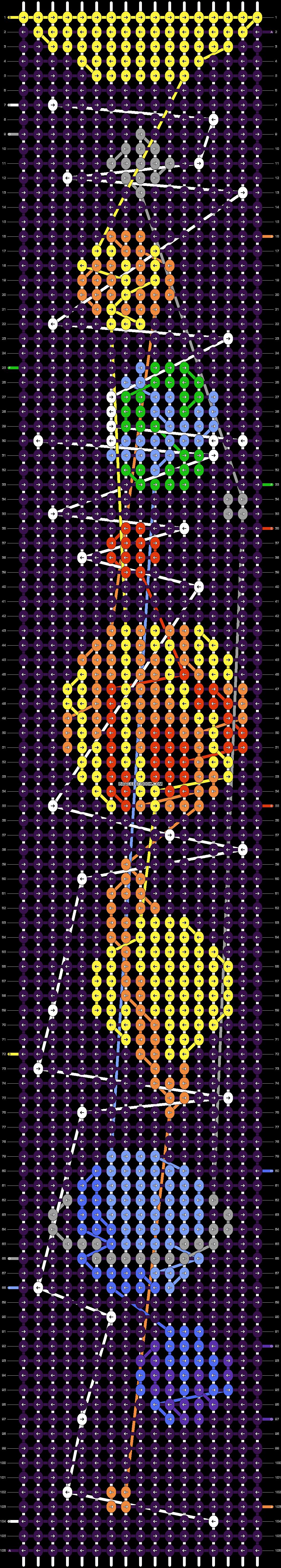 Alpha pattern #25976 pattern