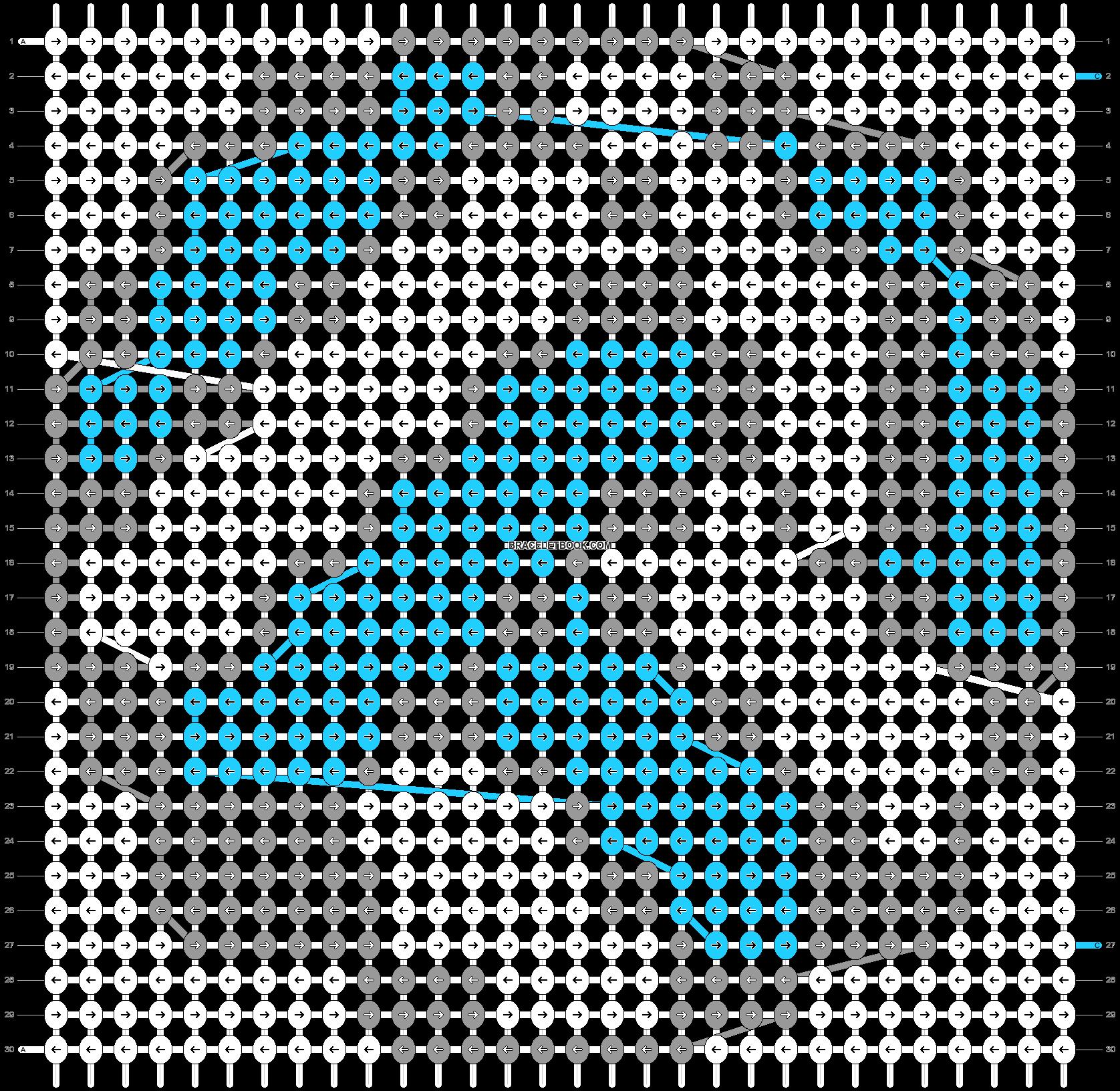 Alpha pattern #25980 pattern