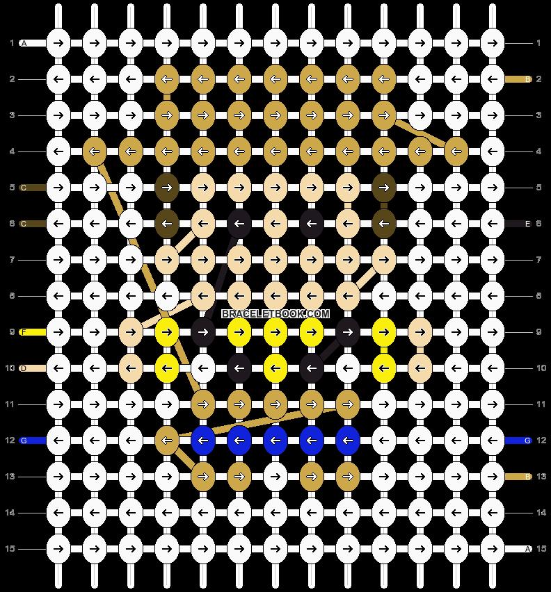 Alpha pattern #25985 pattern