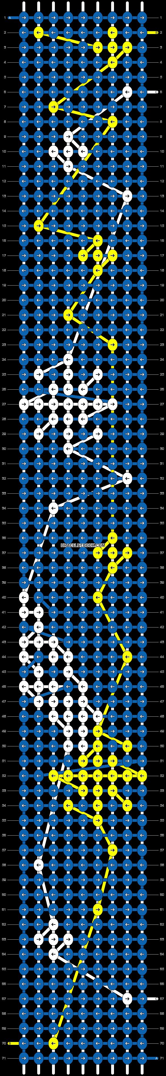 Alpha pattern #26012 pattern