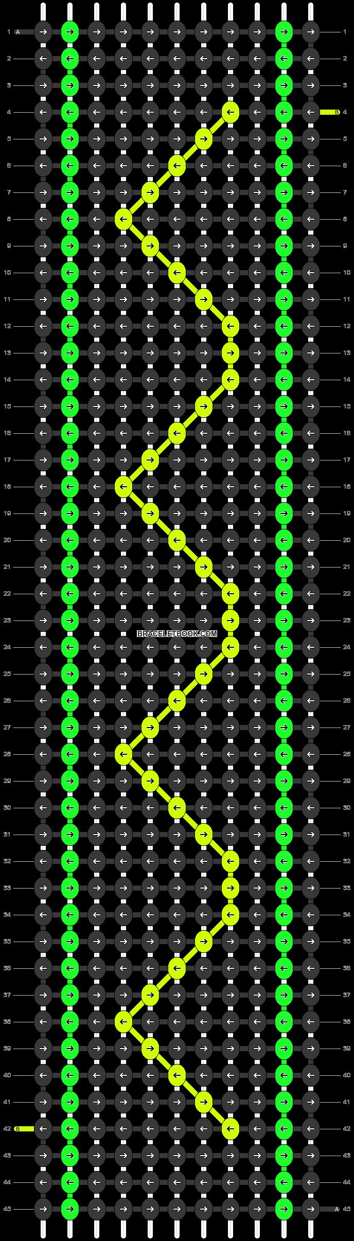 Alpha pattern #26056 pattern