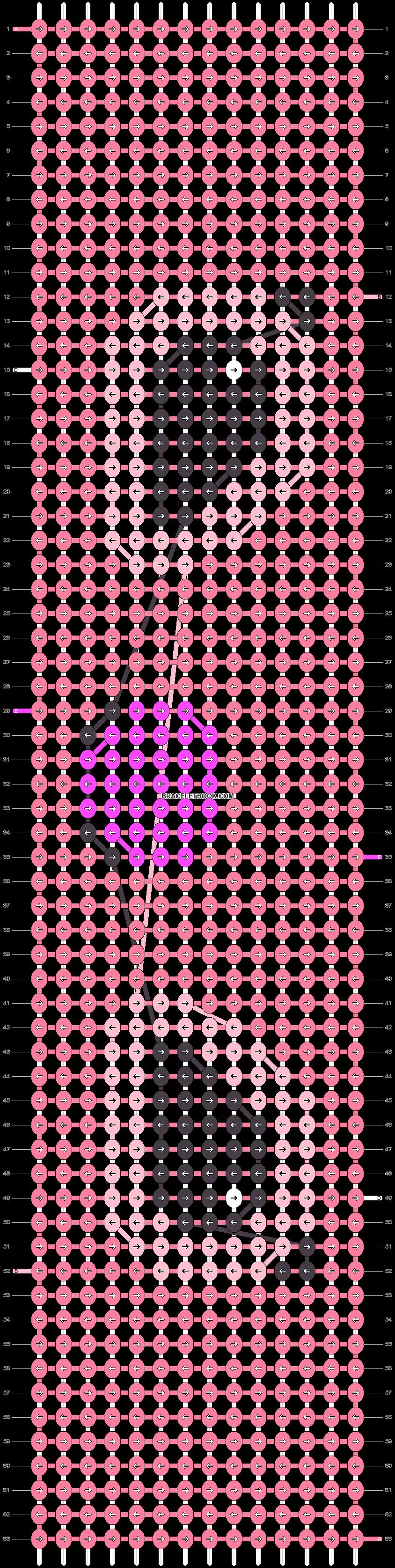 Alpha pattern #26058 pattern