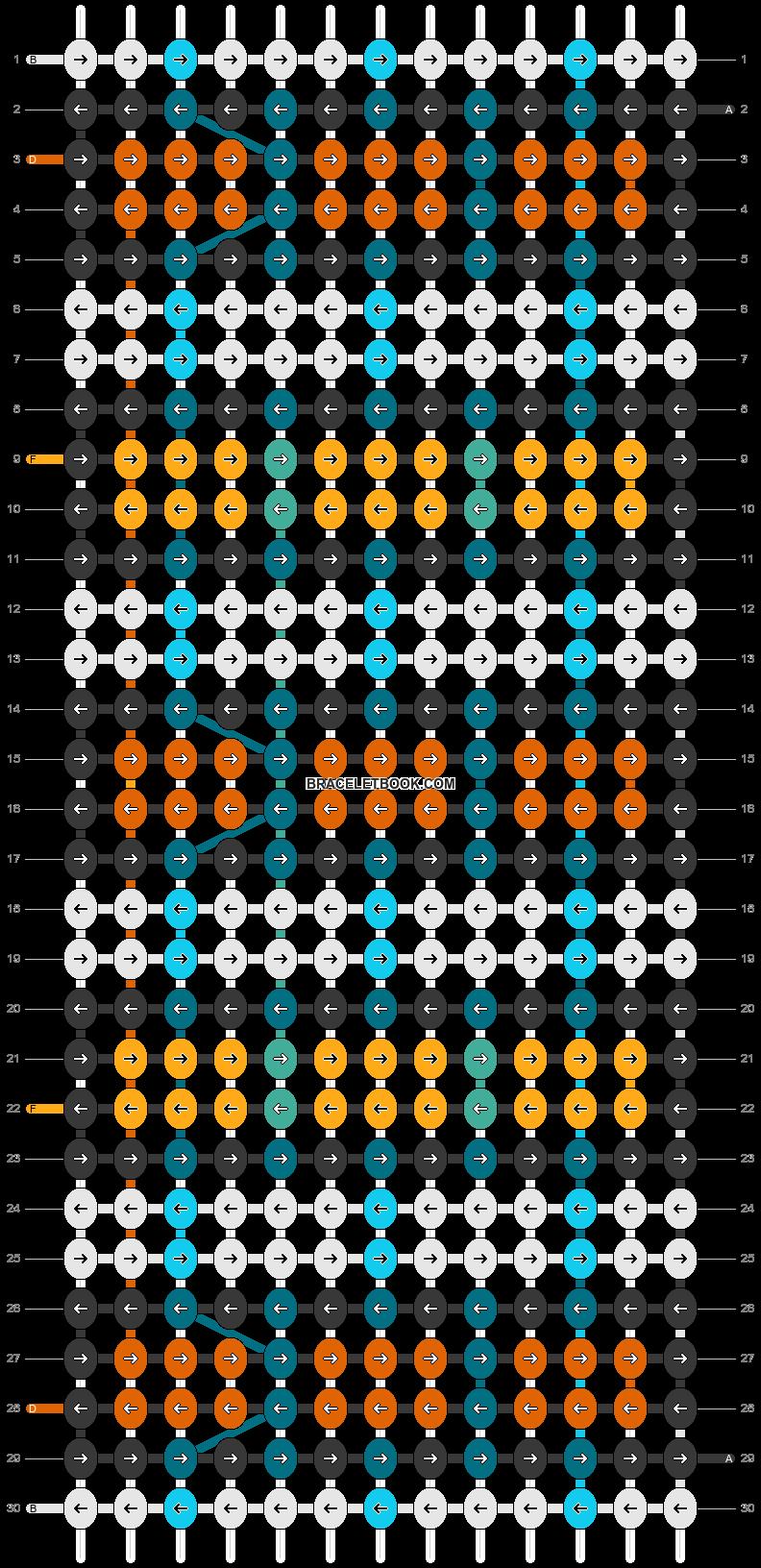 Alpha pattern #26066 pattern