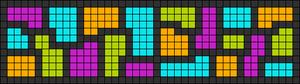 Alpha pattern #26067
