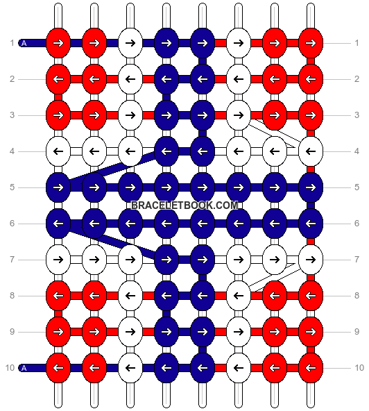 Alpha pattern #26077 pattern