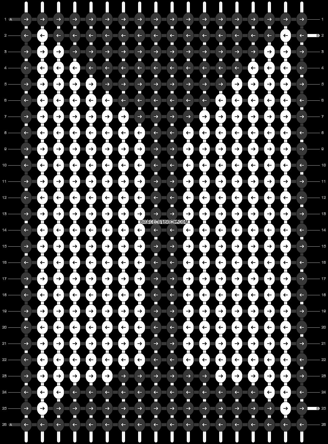 Alpha pattern #26086 pattern