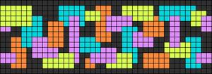 Alpha pattern #26091