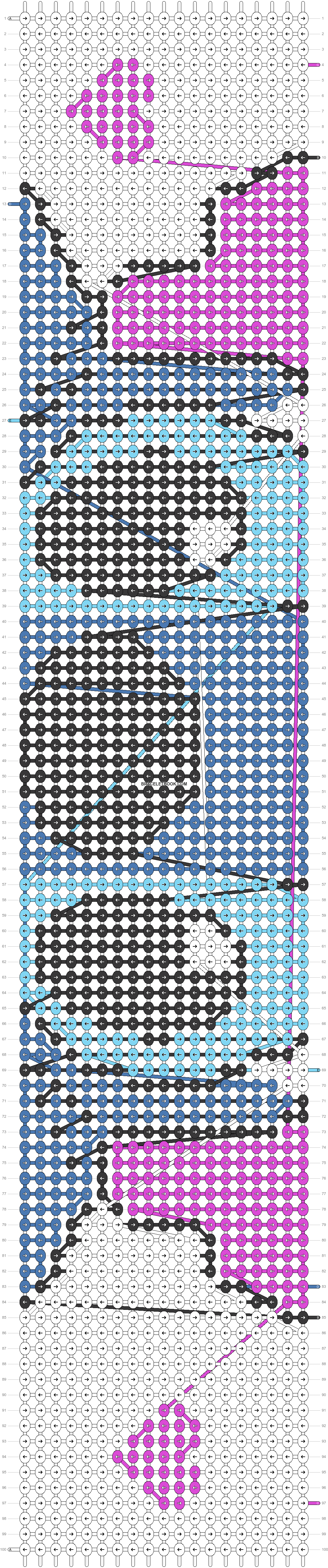 Alpha pattern #26104 pattern