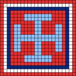 Alpha pattern #26107