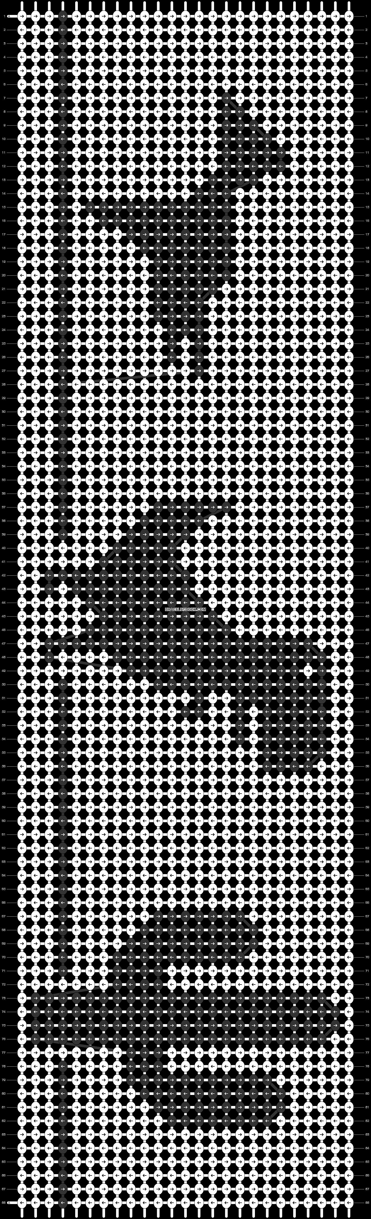 Alpha pattern #26124 pattern