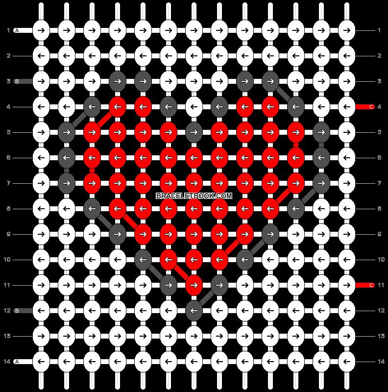 Alpha pattern #26140 pattern