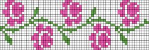 Alpha pattern #26166