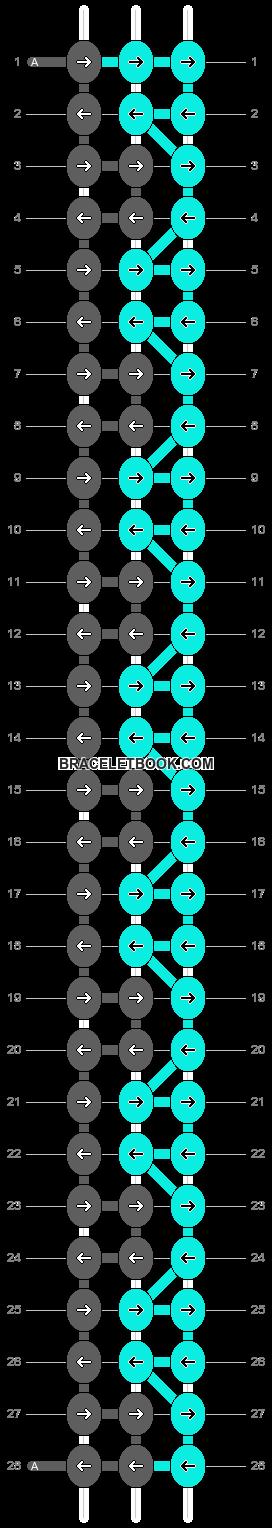 Alpha pattern #26169 pattern