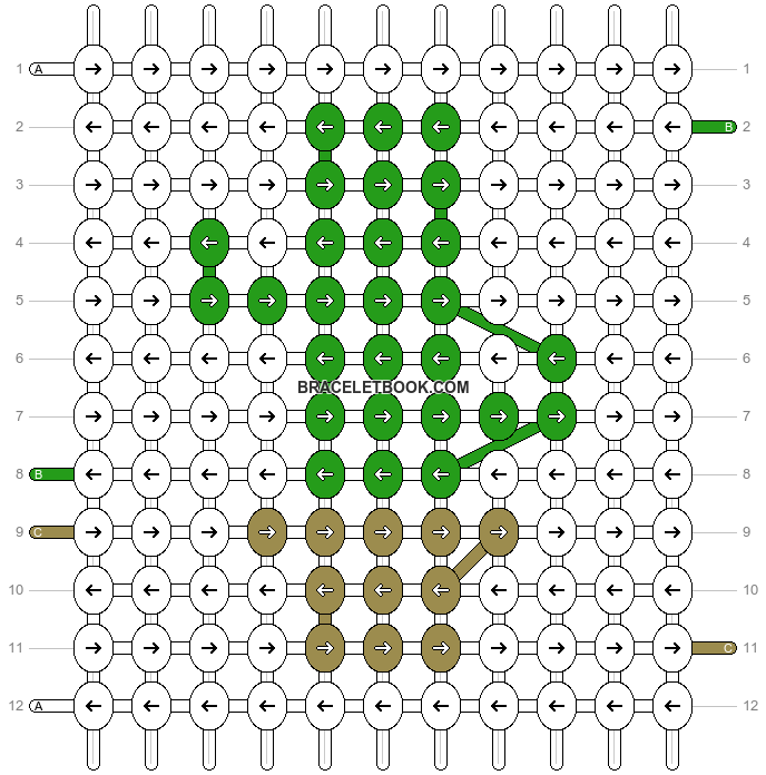 Alpha pattern #26172 pattern