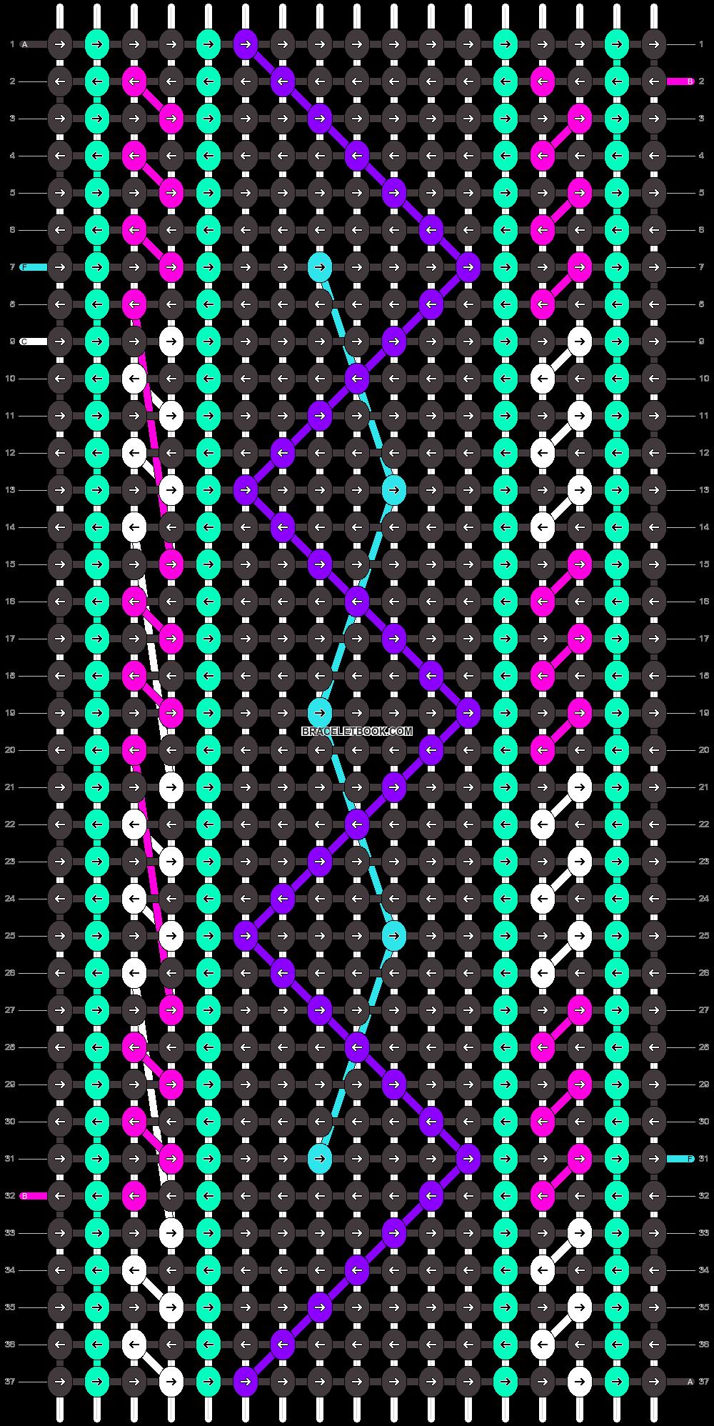 Alpha pattern #26182 pattern