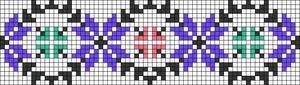 Alpha pattern #26187