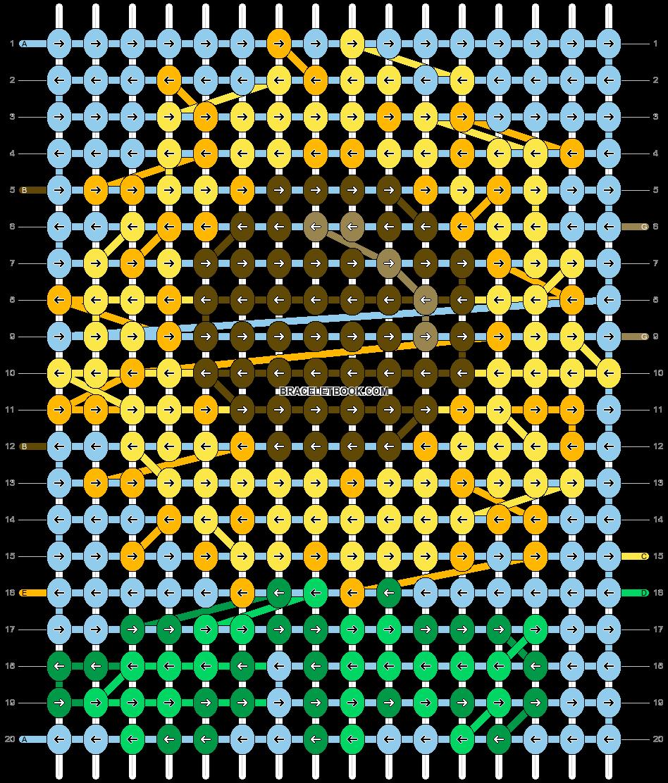 Alpha pattern #26203 pattern