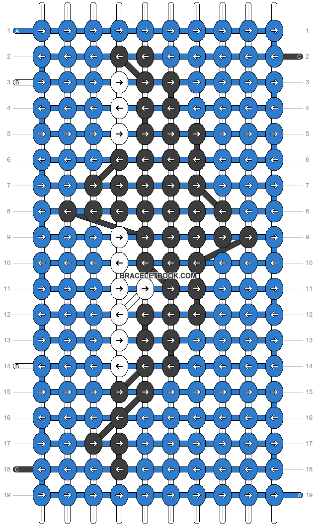 Alpha pattern #26209 pattern