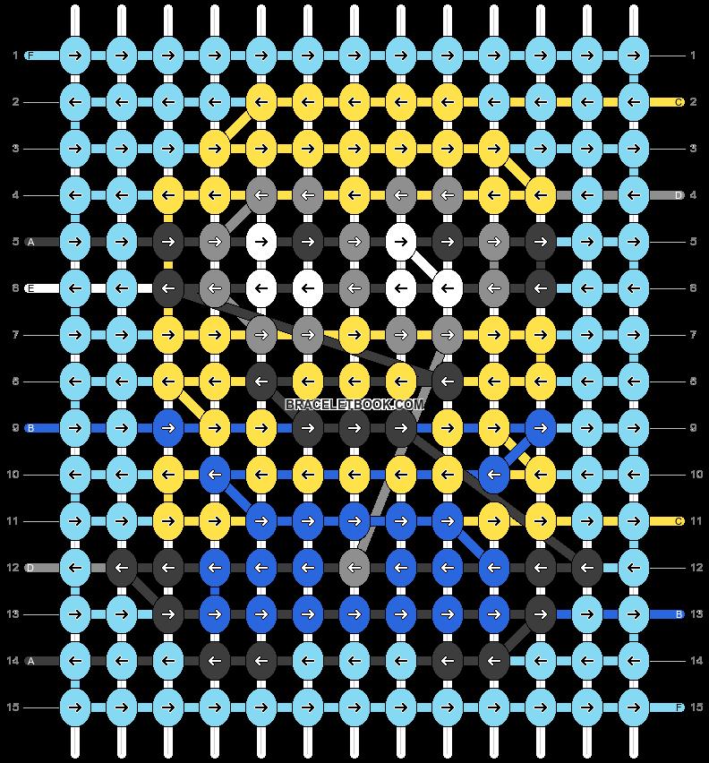 Alpha pattern #26261 pattern