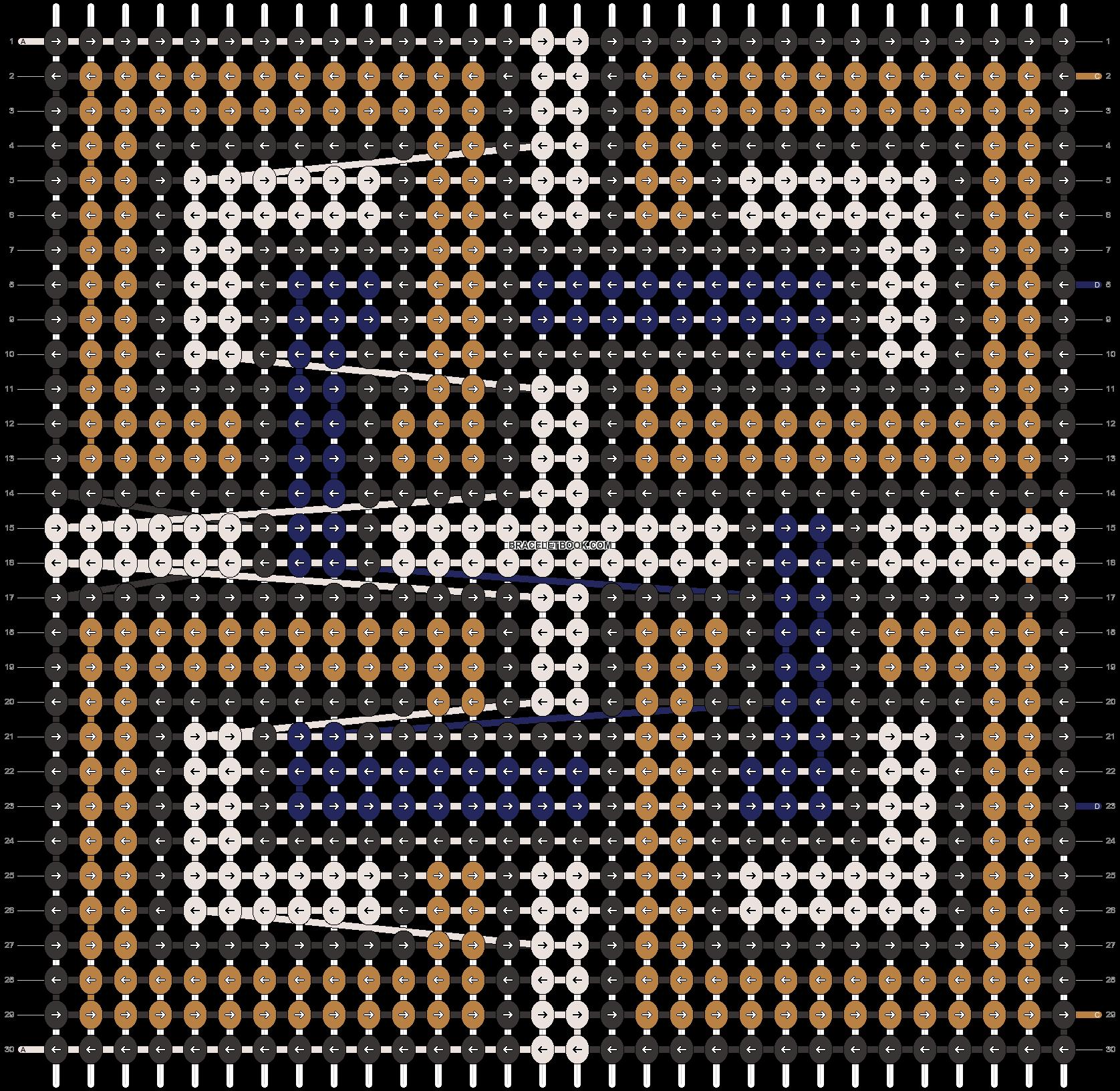 Alpha pattern #26268 pattern